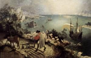 Bruegel Icarus