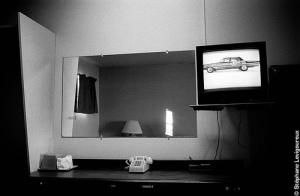 Motel Room TV